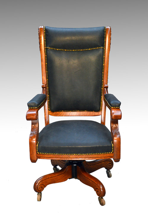 oak exceptional lawyers bankers office chair image 1 antique oak office chair