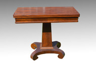 SOLD Antique Civil War Era Empire Game Table **REDUCED PRICE**
