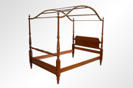 SOLD Solid Cherry Pencil Post Canopy Full Size Bed **REDUCED PRICE**