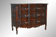 SOLD Antique French Victorian Carved Chest