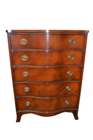 SOLD Drexel Mahogany Gent's Tall Chest