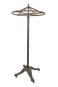 18208 Victorian Metal Hat Rack Revolver