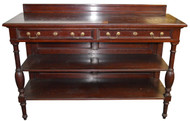 SOLD Mahogany Oversized Dining Room Server