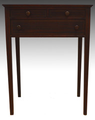 18222 Inlaid Mahogany Sewing Stand