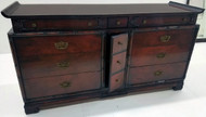 19529 Mahogany large Chest with Mirror