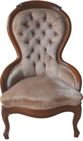 17034 Victorian Ladies Sitting Chair – Balloon back