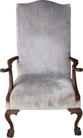 17016 Mahogany Chippendale Arm Chair