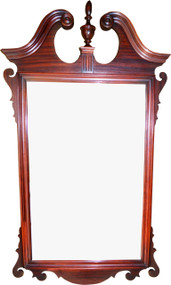 SOLD Mahogany Chippendale Period Style Mirror