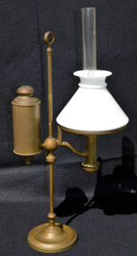 2924 Antique Brass Student Lamp