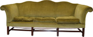 SOLD Country Chippendale Camel Back Period Sofa