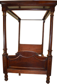 17284 Empire Canopy Bed - Civil War Era