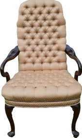 SOLD Mahogany Martha Washington Arm Chair