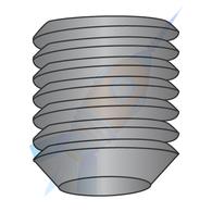 1-8 x 1 Coarse Thread Socket Set Screw Cup Plain