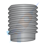 1/4-20 x 5/16 Coarse Thread Socket Set Screw Half Dog Point Plain