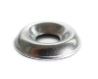#8 Countersunk Finishing Washer Black Zinc
