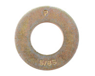 12 Machine Screw Washer Zinc Yellow