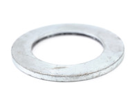 #4 S A E Flat Washer Black Zinc