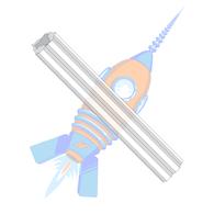 4-6 x 1 Fluted Plastic Anchor Ductile Plastic #6 Diameter