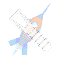 6-8 Plastic Anchor #8 Diameter