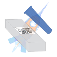 6-8 Conical Plastic Anchor Kit #8 Diameter