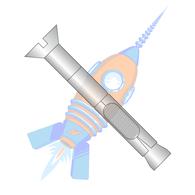 3/8 x 4 Flat Head Sleeve Anchor 18-8 Stainless Steel