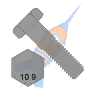 M10 x 20 Din 931 10 Point 9 Metric Partially Threaded Cap Screw Plain