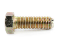 1-8 x 3-1/2 Hex Tap Bolt Grade 5 Fully Threaded Zinc