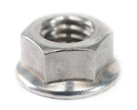 1/2-13 Serrated Flange Hex Lock Nuts 18-8 Stainless Steel