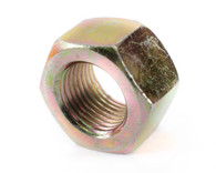 1-1/2-12 Fine Thread Finished Hex Nut Grade 8 Zinc Yellow