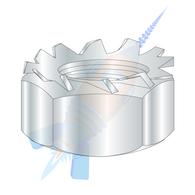 M6 x 1.0 Metric Class 8 Kep Lock Nut Zinc