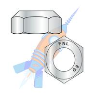 3/8-16 Coarse Thread Top Lock Hex Nut Grade 9 DFAR EcoGuard Gray/Silver 1000 Hr Cor