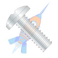 10-24 x 1/2 Phillips Binding Undercut Machine Screw Fully Threaded Zinc