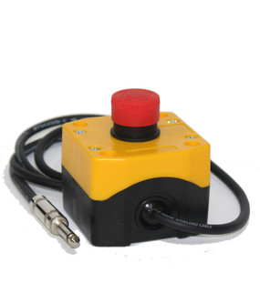 Emergency Stop - NC Twist Release Push Button E-Stop  From CNC Basis