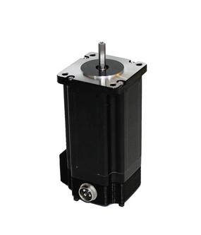 Nema 23 Stepper Motor 570 oz In. Stepper Motor 1.8° /200 Steps Per Rev. 5 Amps Current Per Phase ( Bipolar Parallel) 4-wire  Bi-polar,  NEMA 23 Frame