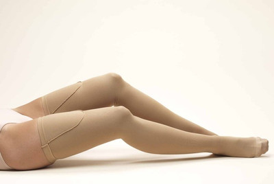 Truform Anti-Embolism - Thigh High 18mmHg - Closed Toe