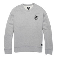 GOLF Le FLEUR ESSENTIAL EMBROIDERED CREWNECK - GREY