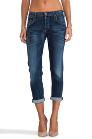 Emerson Slim Fit Boyfriend Denim in Blue Ridge