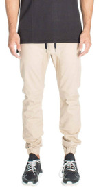 Sureshot Chino Jogger in Tan