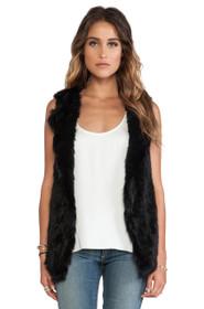Temper Rabbit Fur Vest