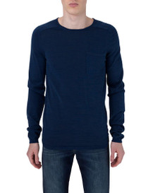 Anders Shiny Long Sleeve Knit