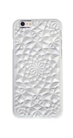 Kaleidoscope iPhone 6 Case in Gloss White