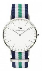 Classic Nottingham Stripe Band Watch