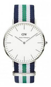 Classic Nottingham Stripe Band Watch