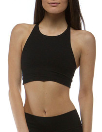 Paltrow Racer Logo Sports Bra