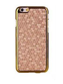 Honeycomb Metallic Trim iPhone 6 Case
