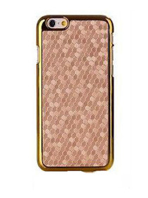 Honeycomb Metallic Trim iPhone 6 Case