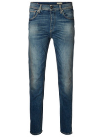 Five Rico Slim Fit Denim in Mid Blue