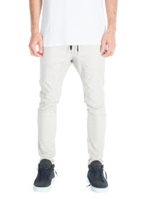 Salerno Chino Joggers in Taupe