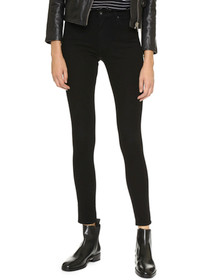 Farrah High Waist Skinny Denim in Tarmac