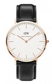Classic Sheffield Leather Watch